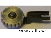 Anlaufrolle Spannrolle f Pfaff Nähmaschine Kl. 332 Zic-Zac/Autom. Idler Pulley for Pfaff sewing machine Model 332 Zic-Zac/Autom.
